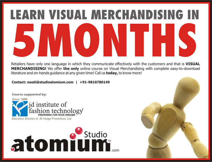 Learn Visual Merchandising in 5 months